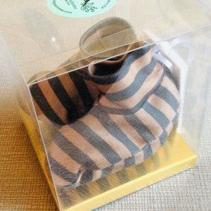 Organic Baby Booties {Striped} NWT